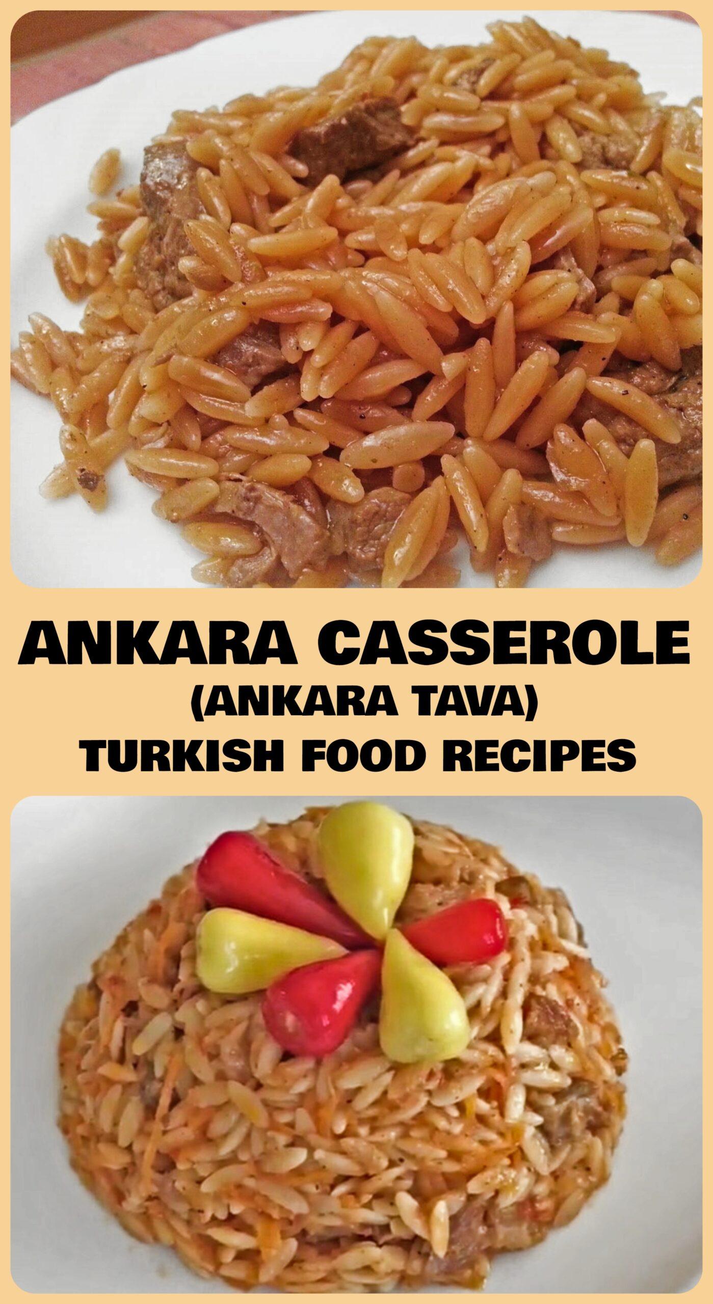 Ankara Casserole - Ankara Tava Recipe