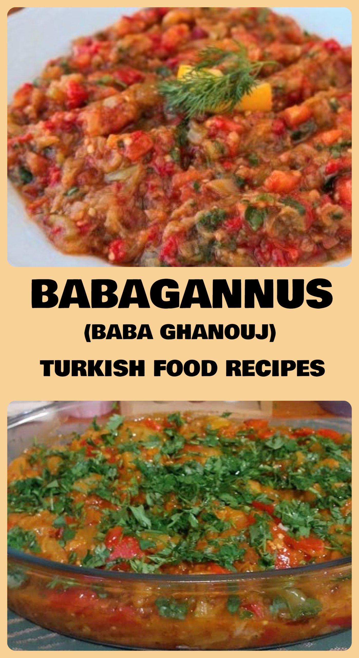 Babagannus - Baba Ghanouj Recipe
