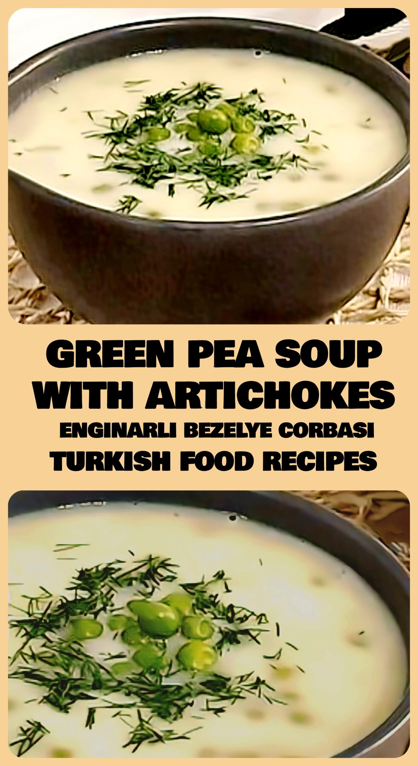 Green-Pea-Soup-With-Artichokes-Enginarli-Bezelye-Corbasi-Recipe