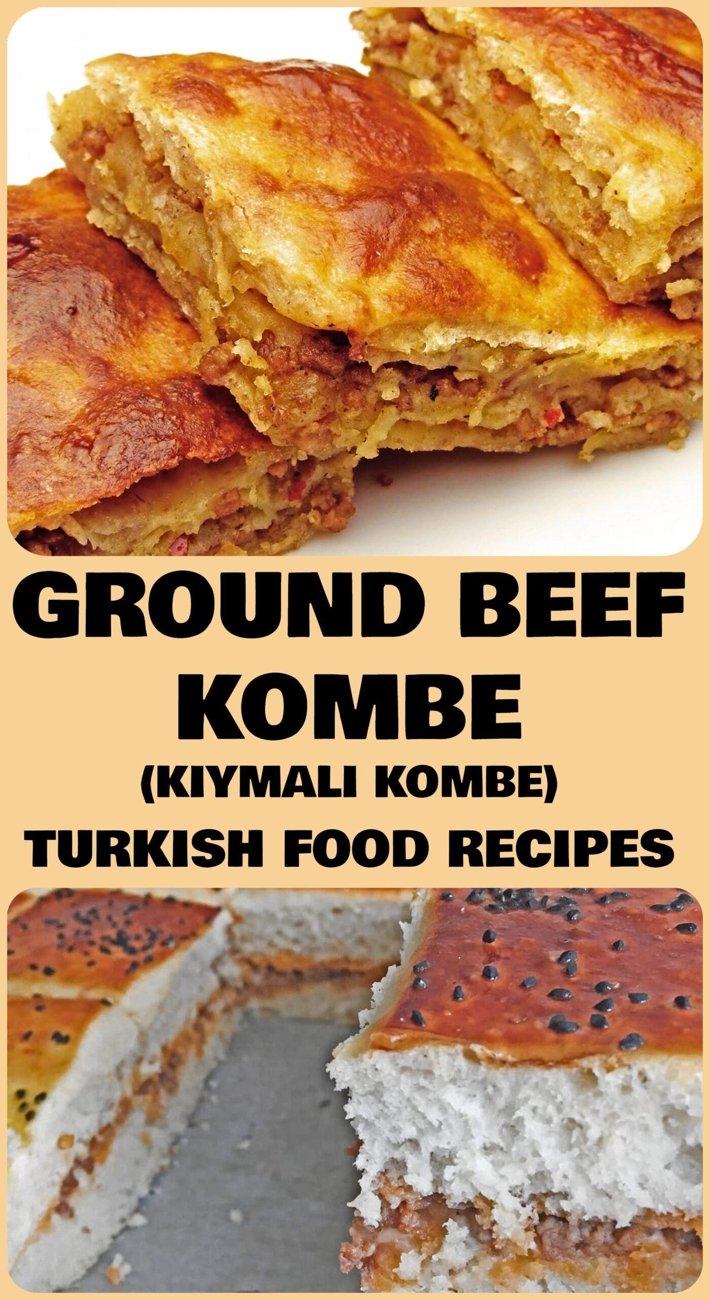 Ground Beef Kombe - Kiymali Kombe Recipe