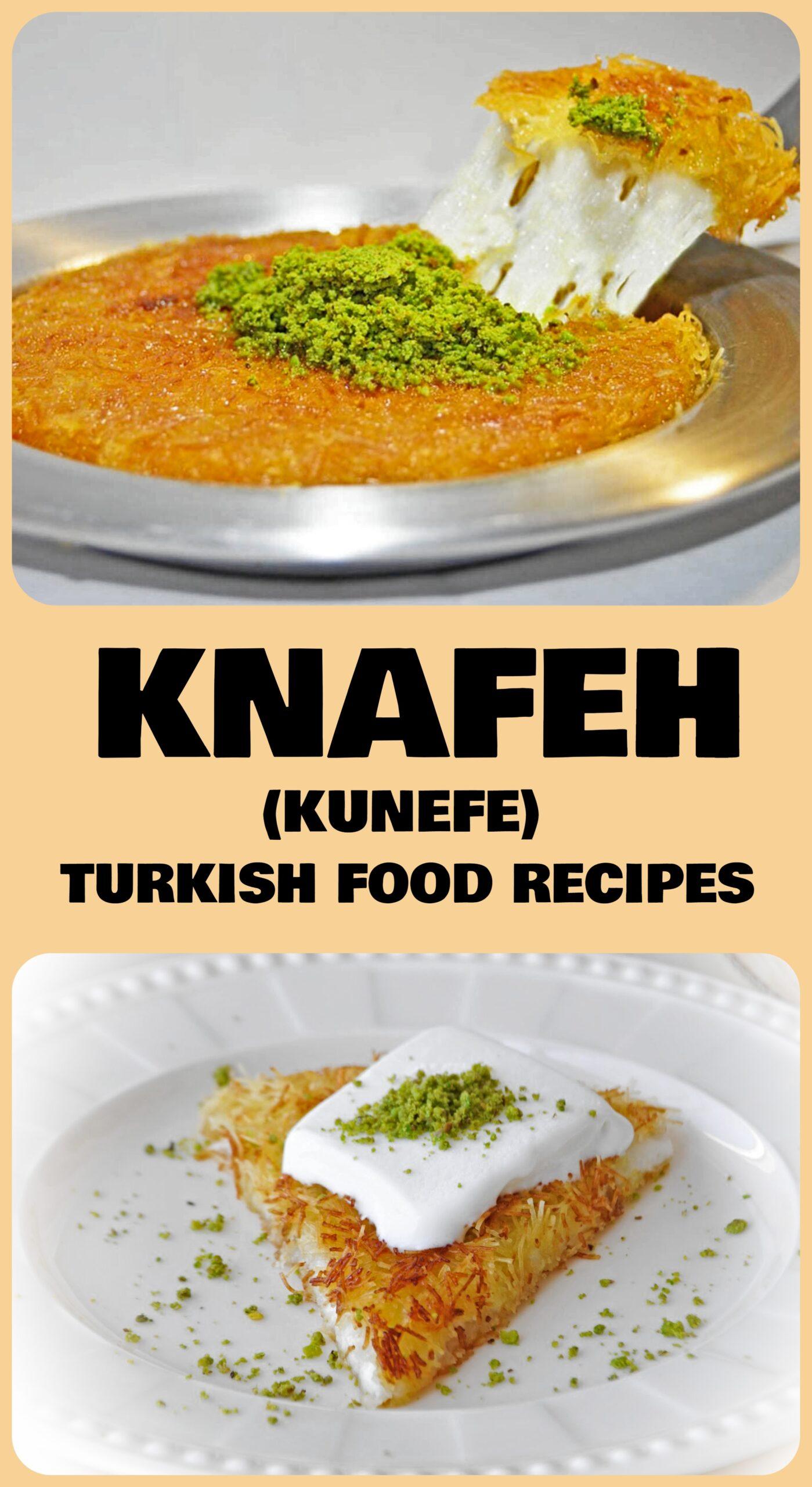 Knafeh - Kunefe Recipe