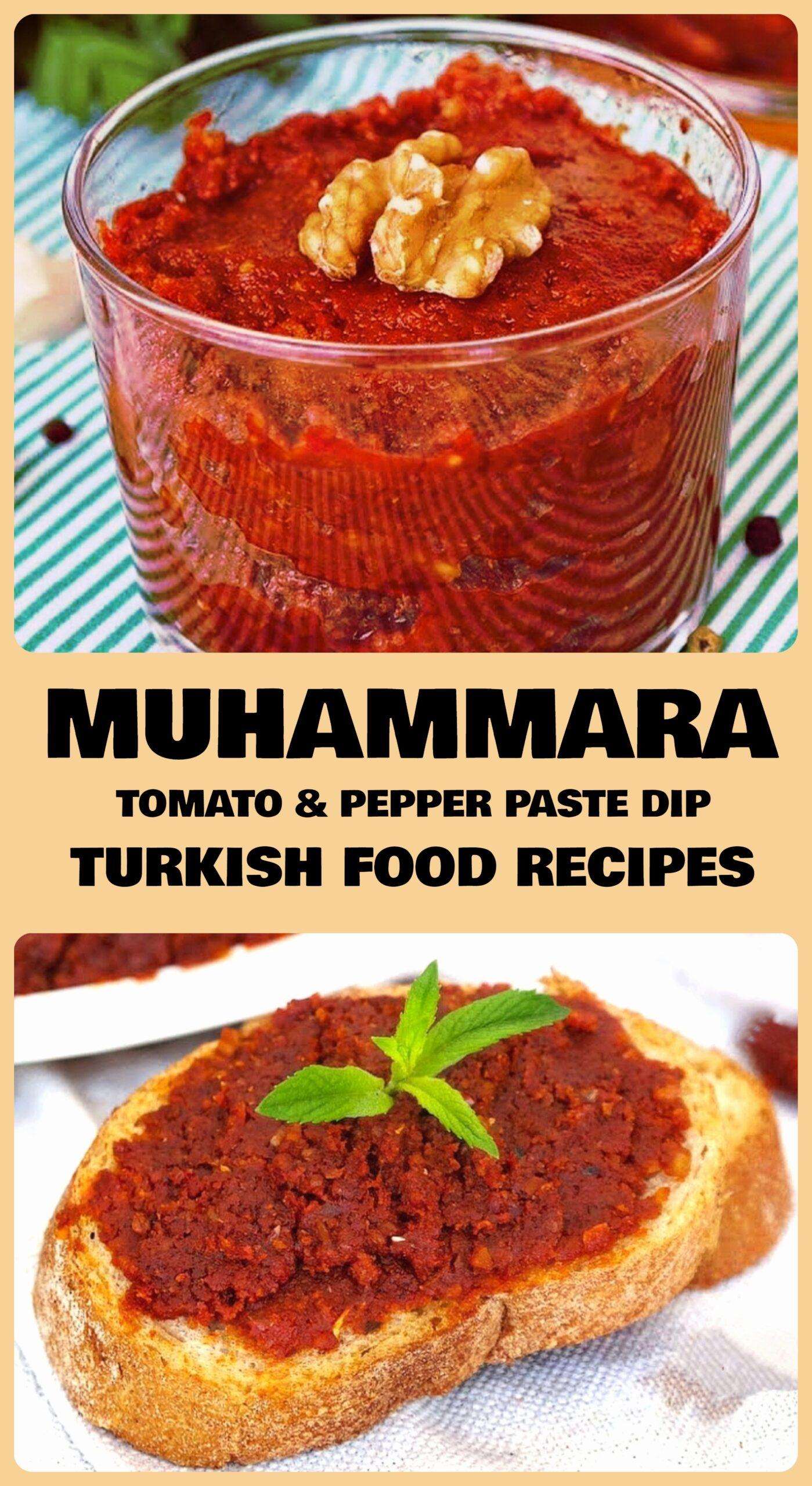 Muhammara - Tomato & Pepper Paste Dip Recipe
