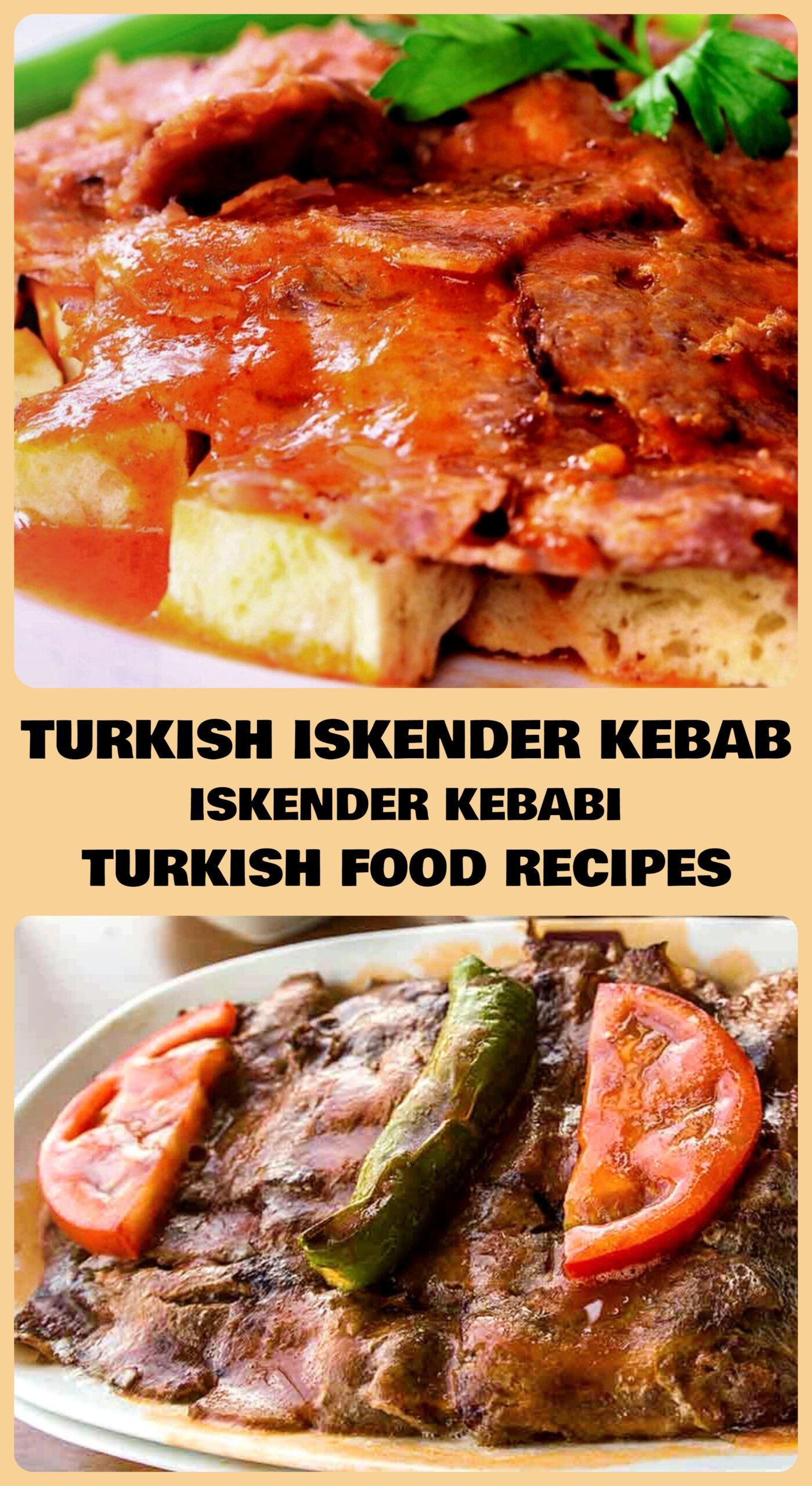 Turkish Iskender Kebab - Iskender Kebabi Recipe