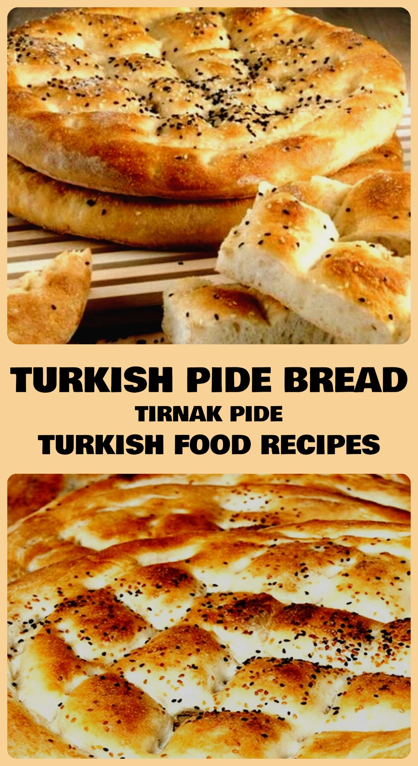 Turkish Pide Bread - Tirnak Pide Recipe