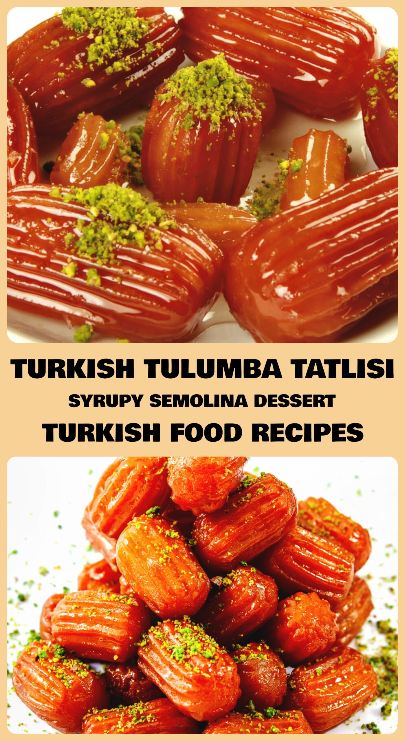Turkish Tulumba Tatlisi - Syrupy Semolina Dessert Recipe
