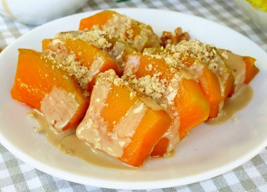 Pumpkin-Dessert-Recipe-Turkish-Kabak-Tatlisi