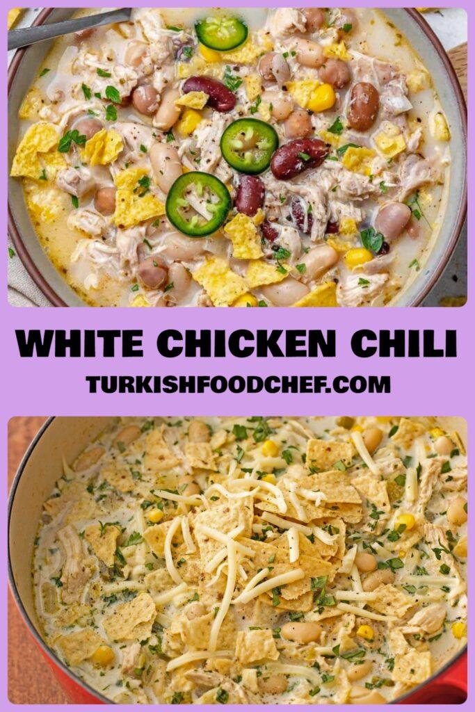 Best White Chicken Chili Recipe