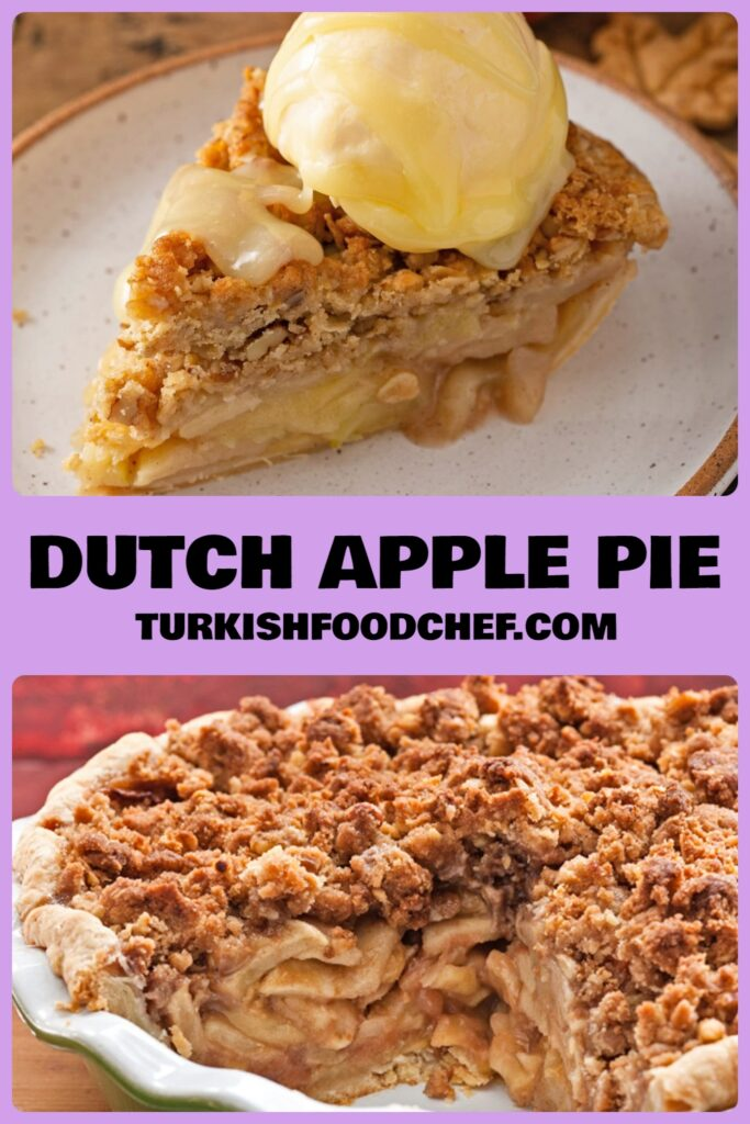 Best and Easy Dutch Apple Pie Recipe